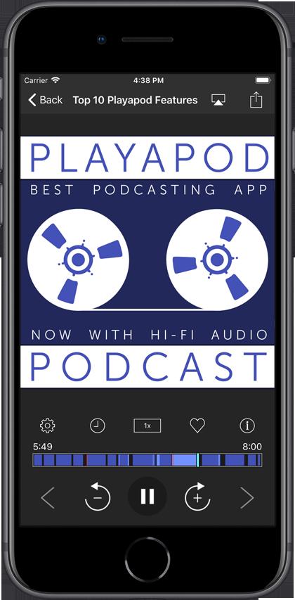 Playapod - Best Cross Platform Podcast App with Cloud Sync